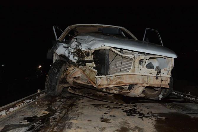 Siverek-Viranşehir Karayolu Yücelen köyü yakınlarında kaza: 6 yaralı