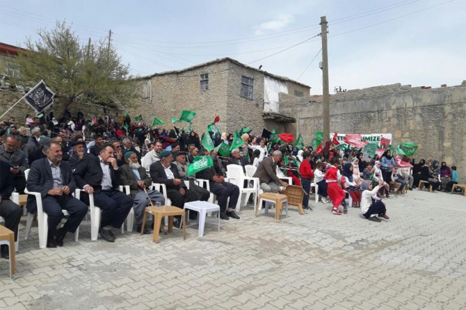 2017 Diyarbakır Çermik Yukarı Şeyhler köyü kutlu doğum etkinliği
