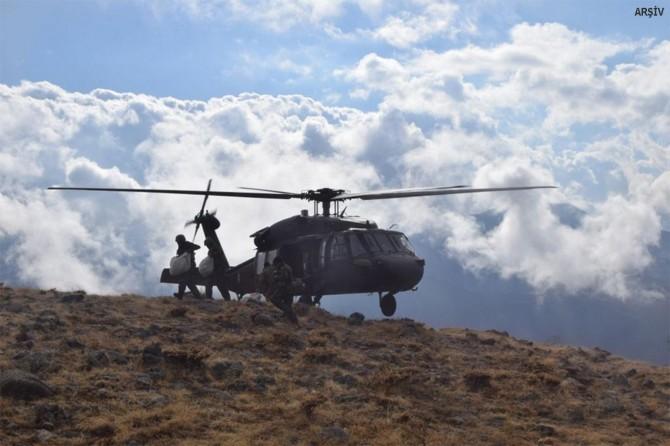 Adıyaman Çamyurdu ve Yazıbaşı köyü çevresinde çatışma: 8 PKK'li öldürüldü