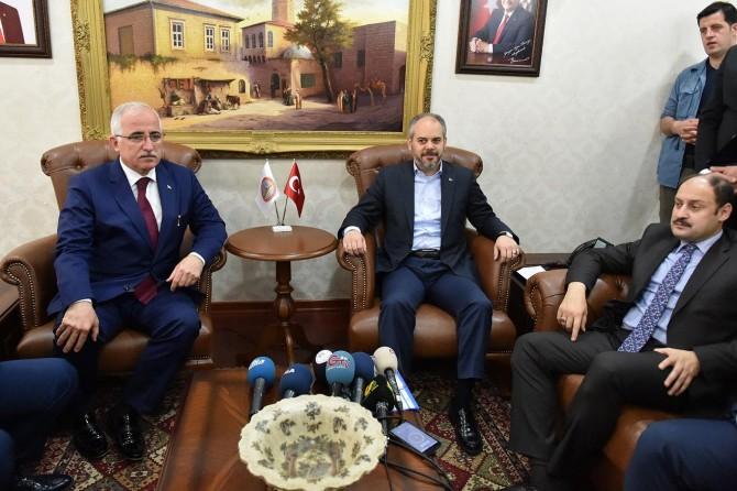 Gençlik ve Spor Bakanı Akif Çağatay Kılıç Şanlıurfa'da
