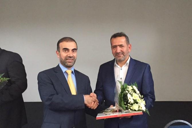 Köln IGMG bölge başkanlığına Selahaddin Demirci getirildi