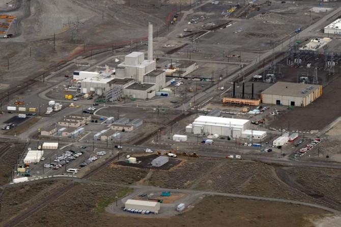 ABD'de nükleer tesiste çökme