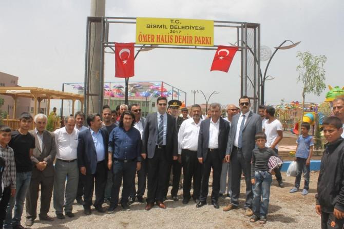 Bismil'de 5 park açıldı
