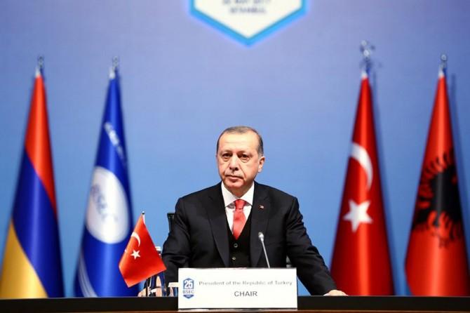 Erdoğan KEİ Zirvesi'nde Konuştu