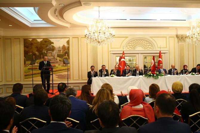Cumhurbaşkanı Erdoğan UETD heyetini kabul etti