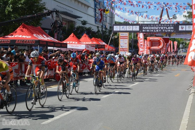 Second lap of the international bicycle tour was held in Batman