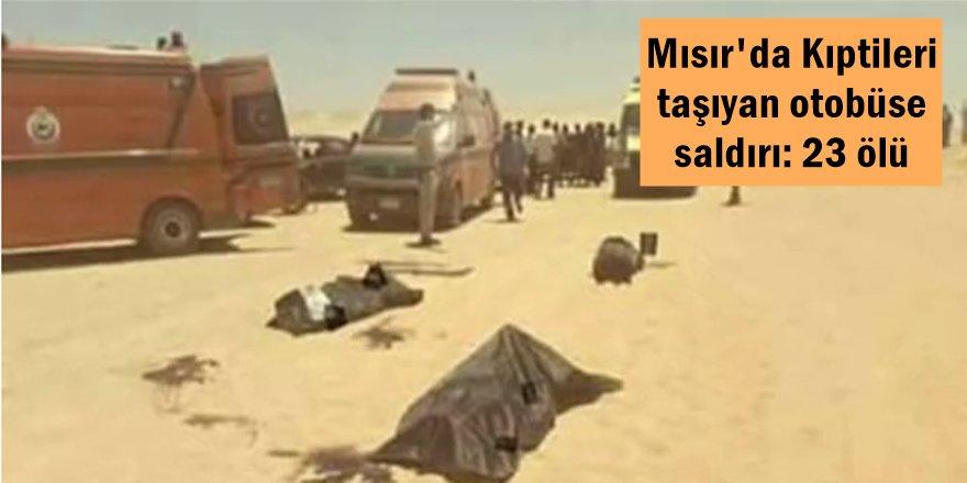 Mısır'da Kıptileri taşıyan otobüse saldırı: 23 ölü
