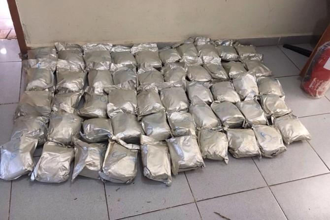 Van'da 55 kilo eroin ele geçirildi