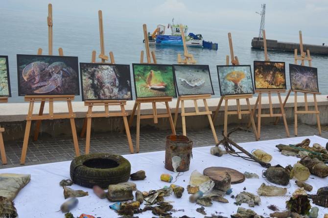 Bursa'da denizden otomobil lastiği ve soba kazanı çıktı foto