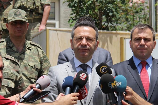 Diyarbakır İl Güvenlik Koordinasyon Toplantısı Lice'de yapıldı