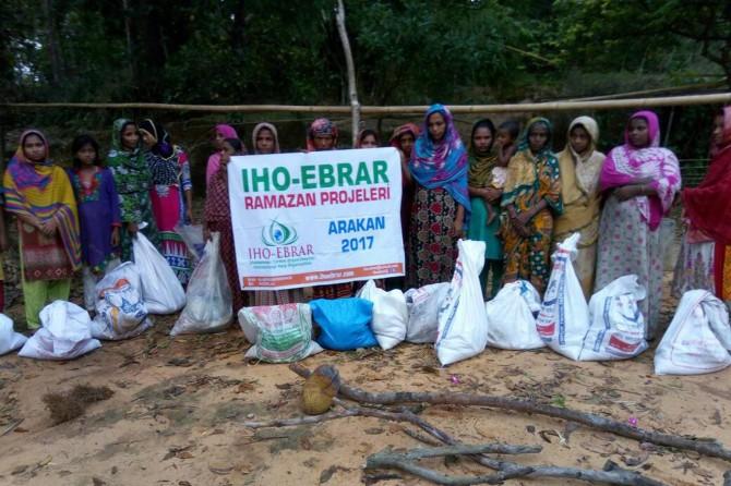 IHO-EBRAR'dan Arakan'a Ramazan yardımı