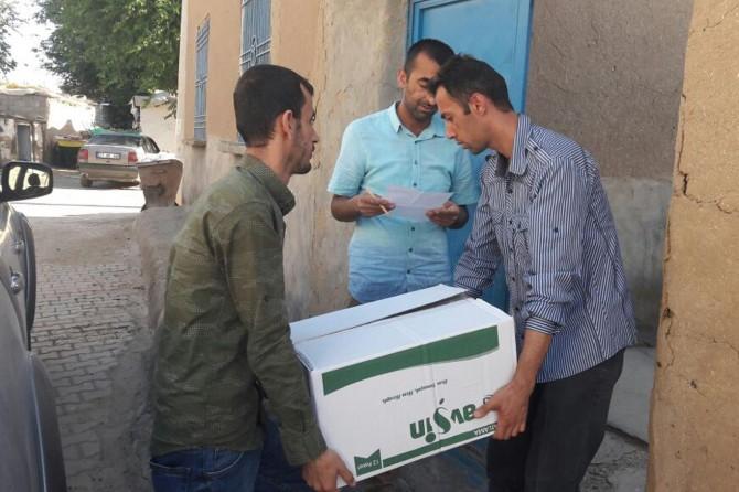 Bismil Belediyesinden Ramazan Paketi