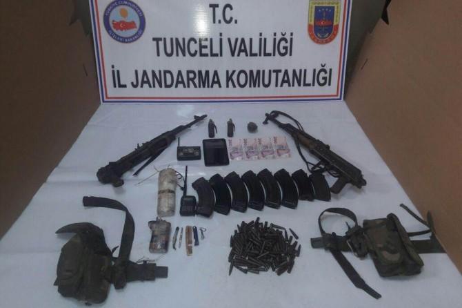 Tunceli'de İHA ile yapılan operasyonda 2 PKK'li öldürüldü