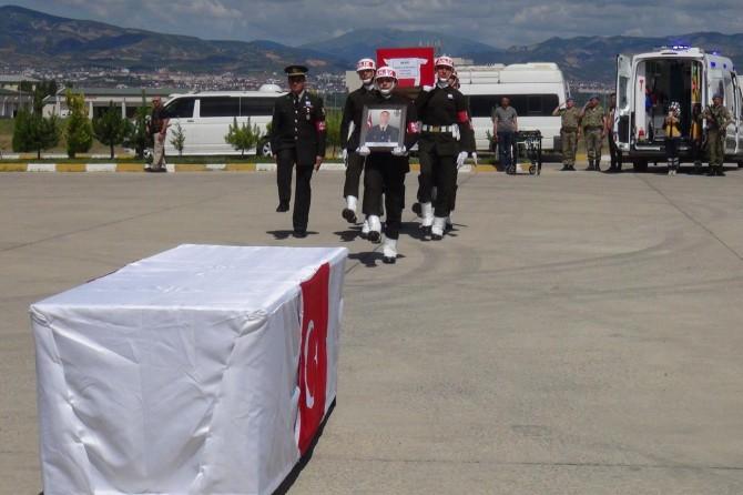 Hayatını kaybeden Uzman Çavuş Büyüksoy için tören düzenlendi