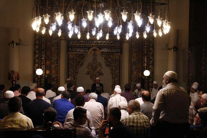 Bursalılar Kadir Gecesi'ni Ulu Camide ihya etti