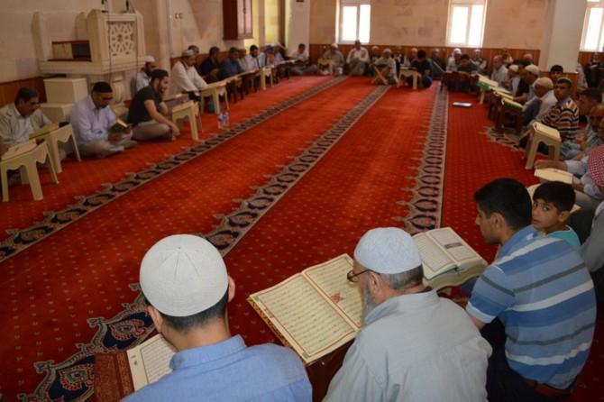 Ramazan'ın son gününde hatim duası yapıldı