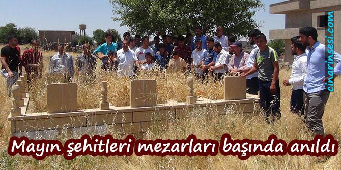 İdil Tepeköy mayın şehitleri mezarları başında anıldı