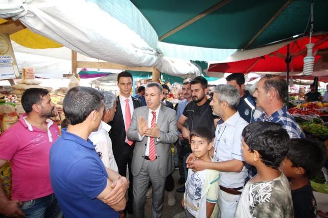 Ağrı Valisi Elban'dan esnaf ziyareti