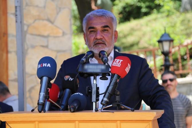 Yapıcıoğlu, Başbağlar Şehitlerini anma programında konuştu