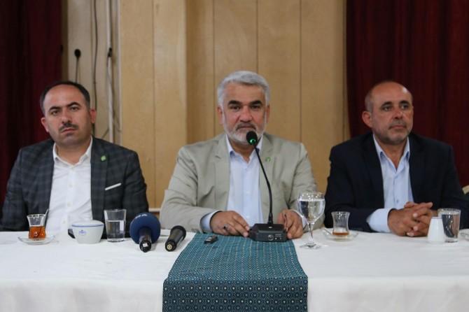 Yapıcıoğlu STK temsilcileriyle bir araya geldi