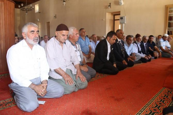 Diyarbakır Ergani'de 15 Temmuz şehidi anıldı video foto