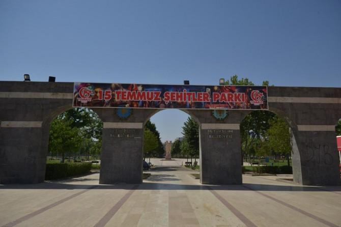 Diyarbakır'daki Parkorman 15 Temmuz Şehitler Parkı olarak değiştirildi