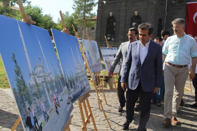 Diyarbakır İçkale'de 15 Temmuz fotoğraf sergisi
