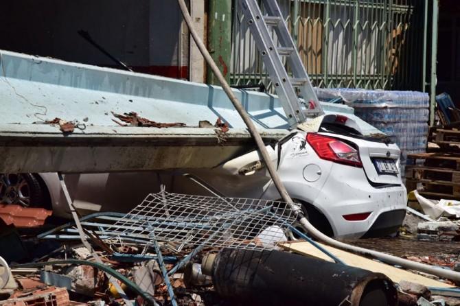 Samsun Canik'te sanayi sitesinde patlama: 15 yaralı