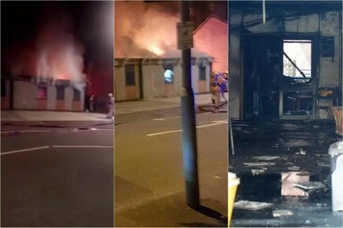 Manchester'da bir cami kundaklandı