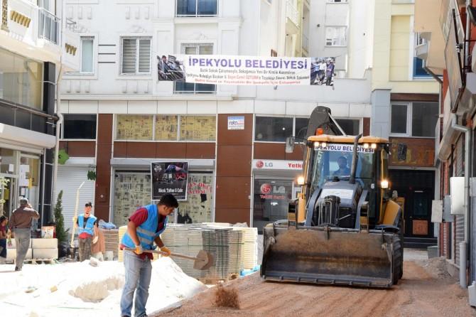 Van İpekyolu'nda Butik Sokak projesi devam ediyor