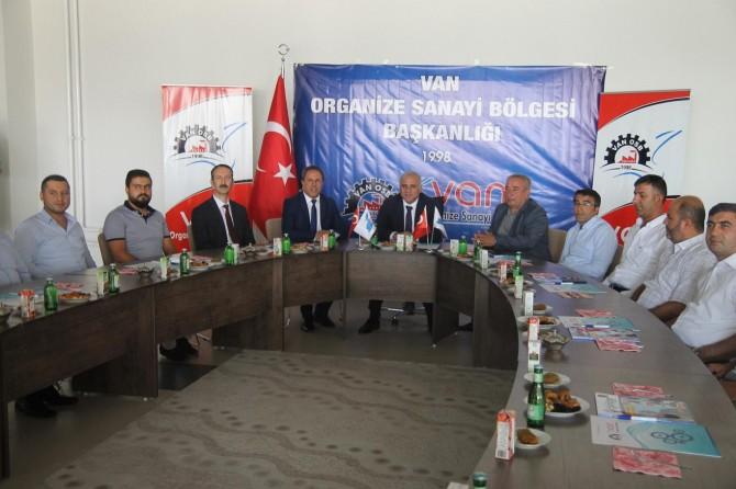 Vali Zorluoğlu: Van için Tekstilkent Projesini önemsiyoruz