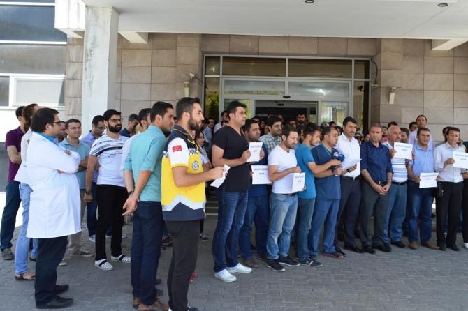 Bitlis'te kadın doktorun darp edilmesine tepki