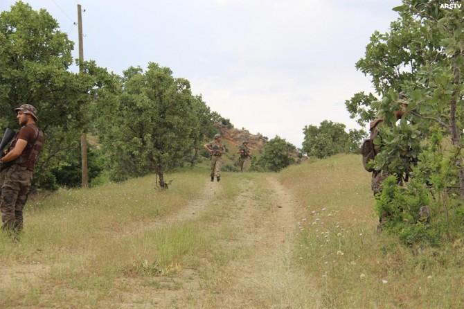 Diyarbakır Lice kırsalında sokağa çıkma yasağı