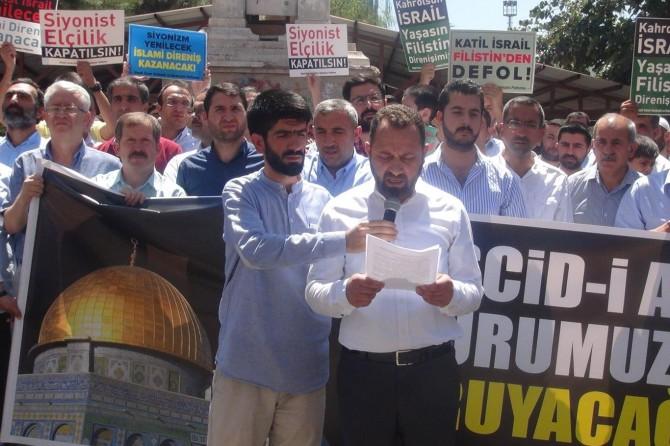 """""""İsrail sadece Müslümanlar için değil insanlığa beladır"""""""