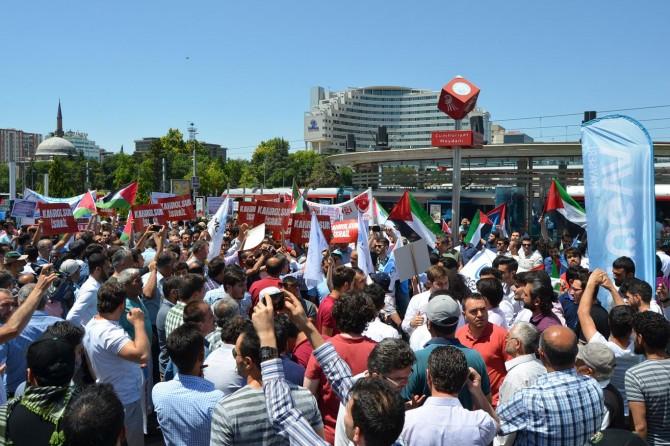 Siyonist çete Kayseri'de tel'in edildi