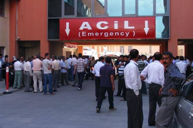Batman-Silvan Karayolu Malabadi Köprüsü yakınlarında kaza: 1 ölü, 6 yaralı