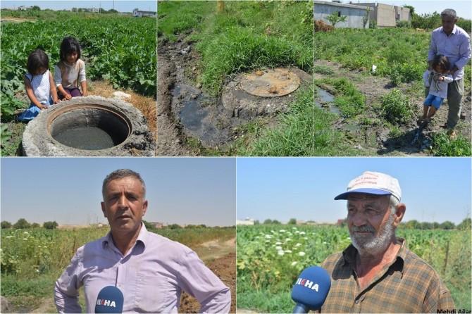 Batman Yeniköy köylüleri kanalizasyon sorunlarına çözüm bekliyor