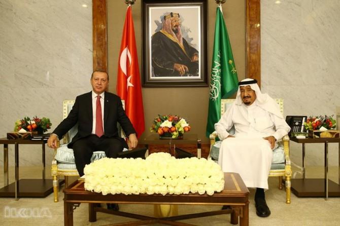 Serokkomar Erdogan bi Qralê Siûdê Selman re hat bal hev