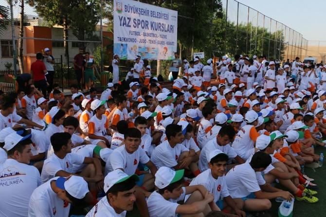 Şanlıurfa'da yaz okullarının startı verildi