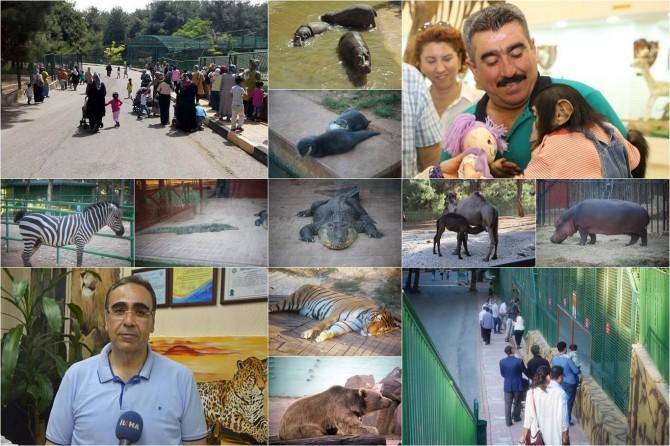 Gaziantep Hayvanat Bahçesinde hafta sonu yoğunluğu