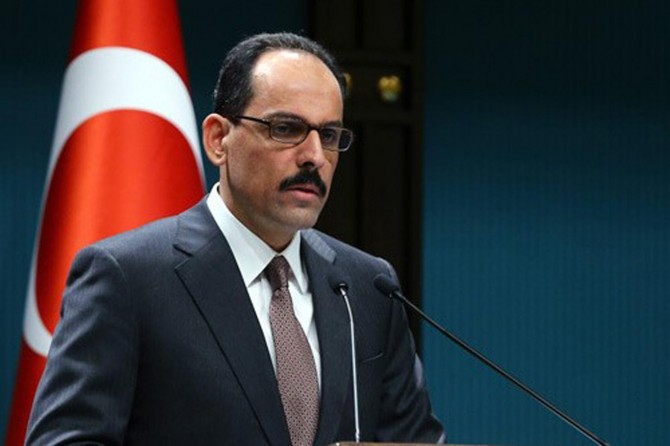 Kalın: Katar krizinin diyalog ve müzakereyle çözümü konusunda mutabık kalındı