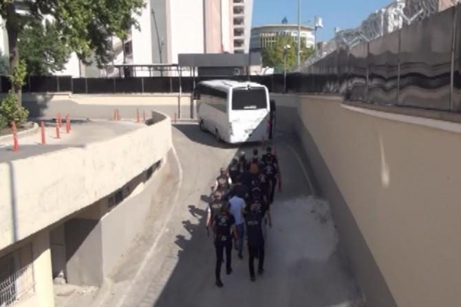 Gaziantep'teki PKK operasyonunda yakalanan 6 şüpheli tutuklandı