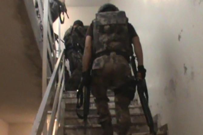 Gaziantep'te IŞİD operasyonu: 5 gözaltı