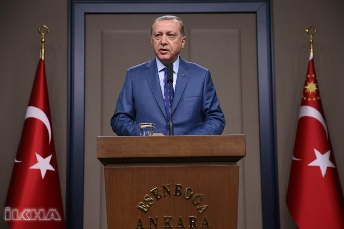 Serokkomar Erdogan piştî ziyareta Kendavê axivî