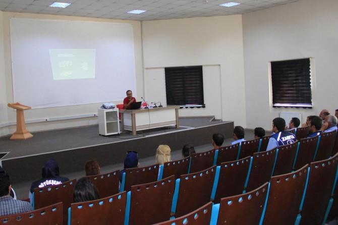 """Van'da """"Temel İş Sağlığı ve Güvenliği"""" semineri"""