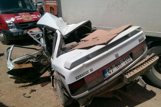 Nusaybin'de trafik kazası: Bir ölü