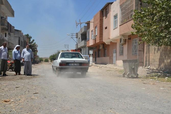 Mahalle sakinlerinden belediyeye tepki