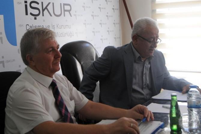 Gaziantep'te istihdam ve mesleki eğitim kurulu toplantısı