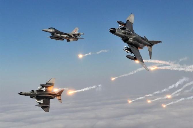 Saldırı hazırlığında olduğu belirtilen 9 PKK'li öldürüldü