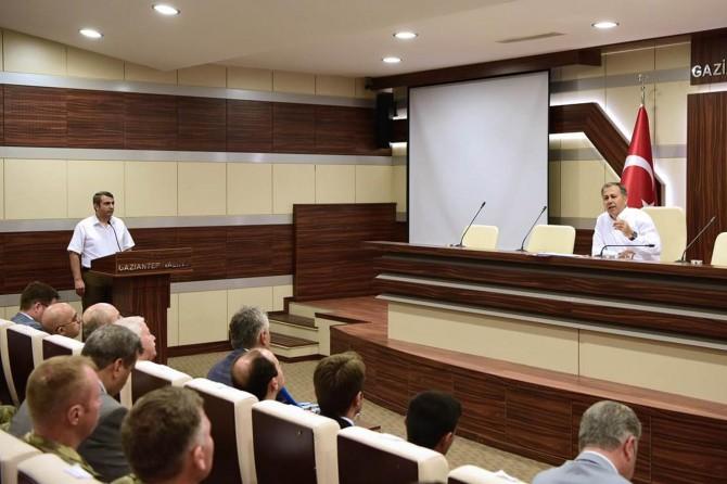 Gaziantep'te okul güvenliği toplantısı yapıldı